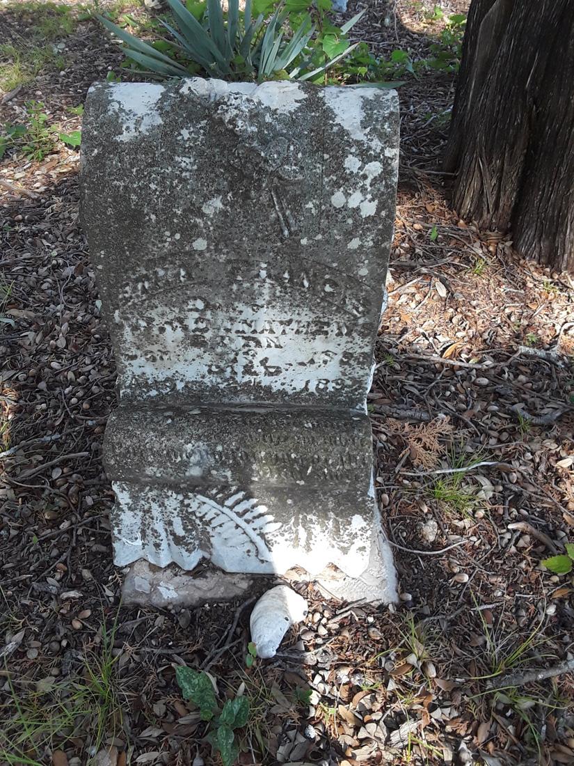 Marble Grave Marker